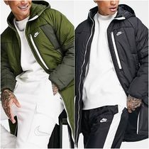 【NIKE】Legacy insulated ロングパーカーコート ロゴ 送料込