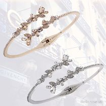 GIVENCHY(ジバンシィ) ブレスレット Givenchy * Crystal Floral Bypass Cuff Bracelet【国内発送】