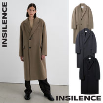 [IN SILENCE] MTR Cashmere Double Coat★カシミヤウールコート