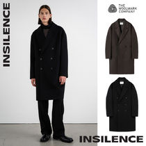 [IN SILENCE] Double-Breasted Cashmere Coat★カシミヤウール