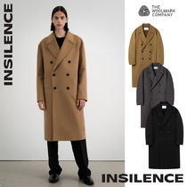 [IN SILENCE] Cashmere Double Long Coat★カシミヤウール