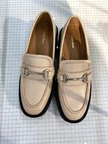 """""""& Other Stories""""新作☆Buckled Chunky Leather Loafers(beige)"""