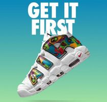 """NIKE★モアテン☆ Air More Uptempo★ """"Peace, Love, Swoosh"""""""