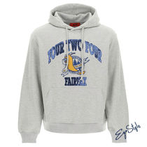 424 COLLEGE EMBROIDERY HOODIE