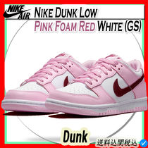 Nike Dunk Low Pink Foam Red White (GS)