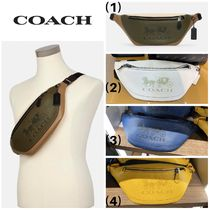 【COACH】☆お洒落☆Warren Belt Bag With Horse And Carriage