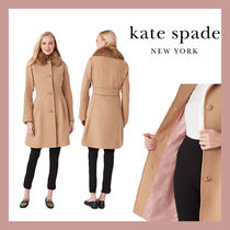 【Kate Spade】SALE!! fit & flare wool coat◆国内発送◆