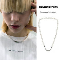 【ANOTHERYOUTH】★21AW★ロゴパールネックレス
