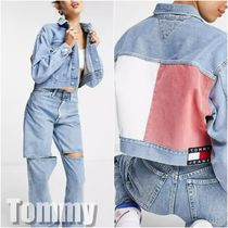 【Tommy】Jeans oversized cropped デニムジャケット 送料込