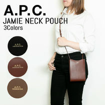 A.P.C.(アーペーセー) ショルダーバッグ・ポシェット 【国内発送】A.P.C スマホポーチ JAMIE NECK POUCH 2021年秋冬