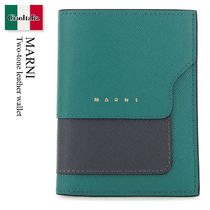 Marni Two-tone leather wallet
