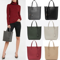 WSL1975 SAINT LAURENT TOY SHOPPING BAG IN SUPPLE LEATHER