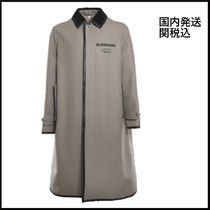 21FW 国内発送 Burberry Technical Fabric Coat With