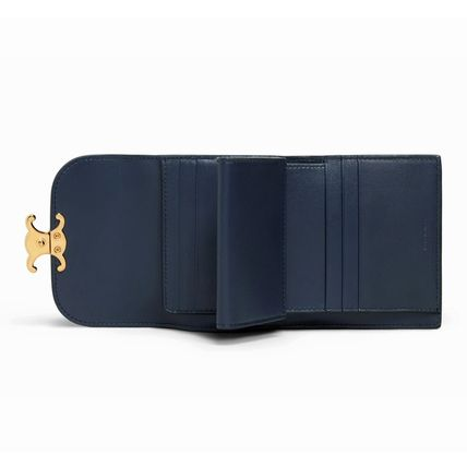 CELINE 折りたたみ財布 ★CELINE★SMALL TRIOMPHE WALLET IN TEXTILE WITH CELINE PRINT(11)