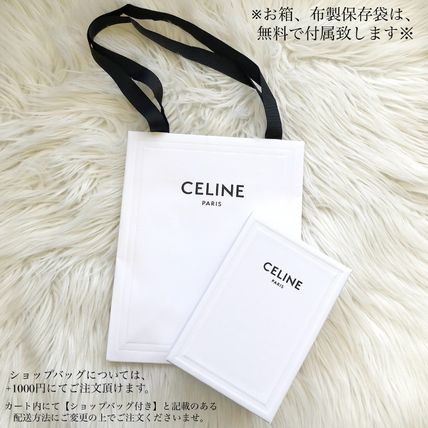 CELINE 折りたたみ財布 ★CELINE★SMALL TRIOMPHE WALLET IN TEXTILE WITH CELINE PRINT(2)