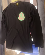 MONCLER(モンクレール) Tシャツ・カットソー MONCLER 1952★21/22秋マーク付きロンT【黒】