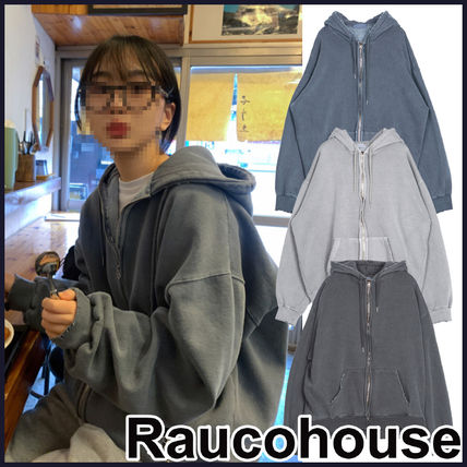 【RAUCO HOUSE】VINTAGE DYING HOODIE ZIP-UP ★NCT DREAM着用