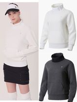 Cleveland Golf(クリーブランドゴルフ) Tシャツ・カットソー Thermogram Square Quilted Overfit High Neck T-shirt