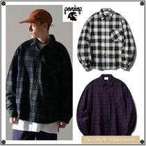 PERSTEPのHowling Check Shirt 全3色