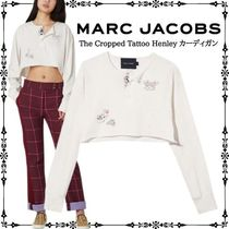 MARC JACOBS The Cropped Tattoo Henley カーディガン