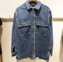 """COS(コス) シャツ """"COS MEN"""" RELAXED-FIT DENIM OVERSHIRT MID WASH BLUE"""