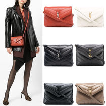 """WSL1982 LOULOU TOY BAG IN MATELASSE """"Y"""" LEATHER"""