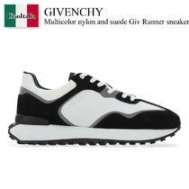 Givenchy Multicolor nylon and suede Giv Runner sneakers