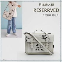RESERVED(リザーブド) 子供用ショルダー・ポシェット・ボディバッグ 【海外限定】関税込み☆RESERVED kids ミッキーマウス バッグ