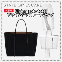 【state of escape】新作! Flying solo tote 新色トートバッグ
