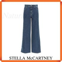 Stella Mccartney Flare Jeans With Logo Bands