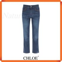 Chloe' Jeans With Laser Logo