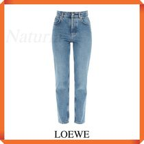 Loewe Jeans With Anagram Leather Pocket
