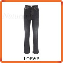 Loewe Jeans With Anagram Embroidery