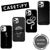 BLVCK x CASETiFY限定コラボ ローズ ミラーケース国内発送