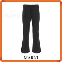 Marni Sports Trousers In Cady