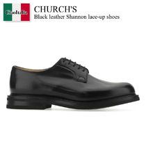Church's(チャーチ) ドレスシューズ・革靴・ビジネスシューズ Church'S Black leather Shannon lace-up shoes