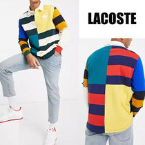 LACOSTE★カラーブロック ロングスリーブ ポロシャツ