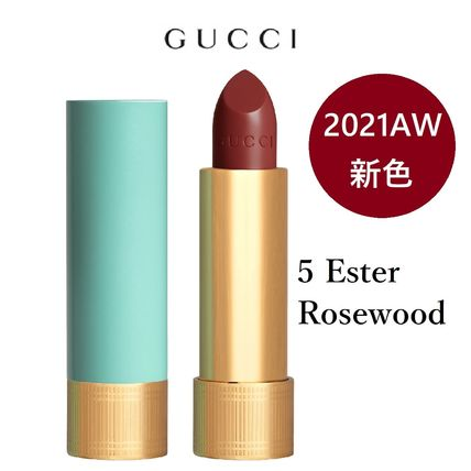 GUCCI☆2021AW新色☆Baume a Levres【5 Ester Rosewood】