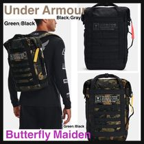 UNDER ARMOUR (アンダーアーマー) バックパック・リュック :: UA × Project Rock :: トレーニングに最適 Duffle Backpack