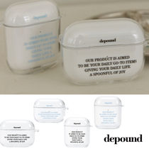 depound(デパウンド) スマホケース・テックアクセサリーその他 韓国大人気 【depound】clear airpods / airpodspro case 単品