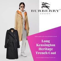 BURBERRY直営店 The Long Kensington Heritage Trench Coat