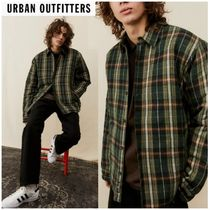 Urban Outfitters(アーバンアウトフィッターズ) ジャケットその他 Urban Outfitters Oliveチェック シャツジャケット