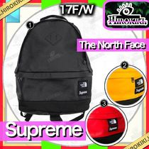 17FW /Supreme The North Face Leather Day Pack Backpack