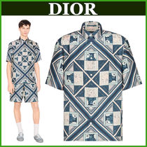 DIOR♠セットアップがお洒落DIOR AND KENNY SCHARFシャツ