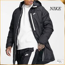 NIKE  Legacy insulatedロングパーカーコート ブラック*送関込