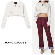 Marc Jacobs The Cropped Tattoo Henley カーディガン ホワイト