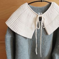 """""""ARKET"""" Pleated Collar OffWhite"""