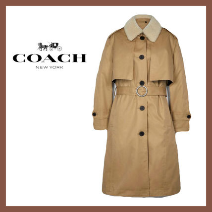 【Coach】SALE!! Trench With Reversible Buffalo Plaid Liner