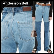 ANDERSSON BELL(アンダースンベル) デニム・ジーパン ☆関税込☆ANDERSSON BELL★SHIRLEY PATCHWORK BOOTSCUT JEAN.S