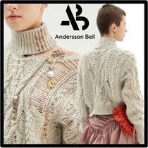 ANDERSSON BELL(アンダースンベル) ニット・セーター ☆関税込☆ANDERSSON BELL★LOWELL HAND STITCHED CROP KNI.T★
